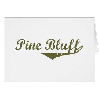 Pine Bluff  Revolution t shirts Greeting Card