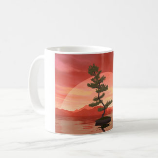 Pine bonsai - 3D render Coffee Mug