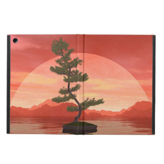 Pine bonsai - 3D render Cover For iPad Air