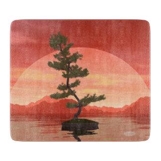 Pine bonsai - 3D render Cutting Board
