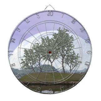 Pine bonsai - 3D render Dartboard