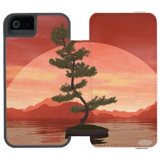 Pine bonsai - 3D render Incipio Watson™ iPhone 5 Wallet Case