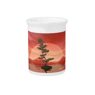 Pine bonsai - 3D render Pitcher