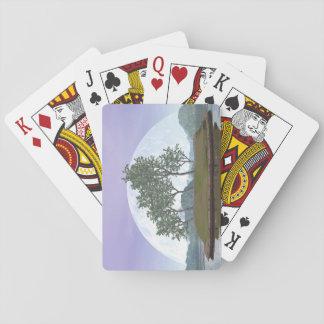 Pine bonsai - 3D render Playing Cards