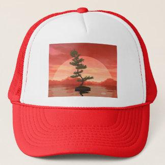 Pine bonsai - 3D render Trucker Hat