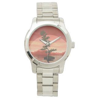 Pine bonsai - 3D render Watch