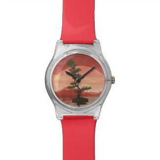 Pine bonsai - 3D render Wrist Watches