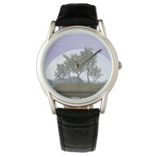 Pine bonsai - 3D render Wristwatch