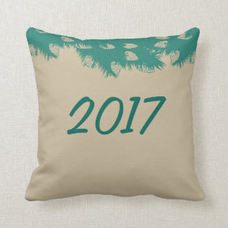 Pine branch cushion