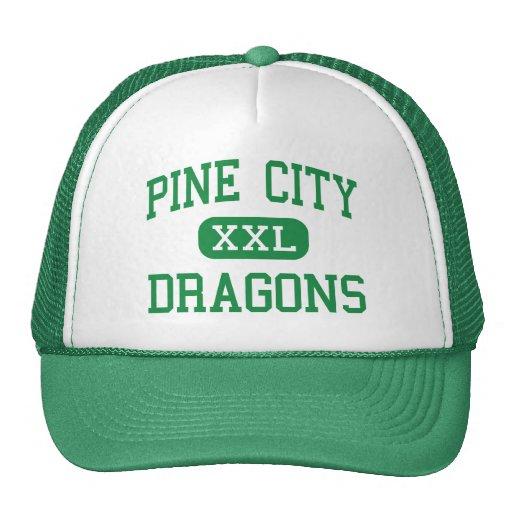 Pine City - Dragons - High - Pine City Minnesota Hats