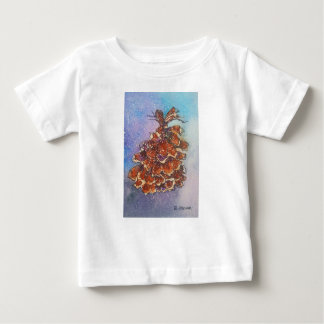 Pine Cone Artwork Baby T-Shirt