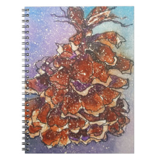 Pine Cone Artwork Notebooks