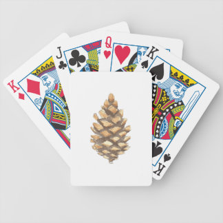 Pine Cone Bicycle Playing Cards