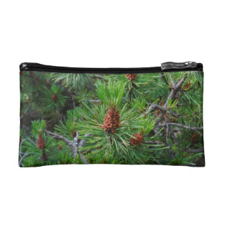 pine cone cosmetic bag