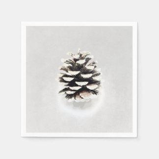 Pine Cone Disposable Serviettes