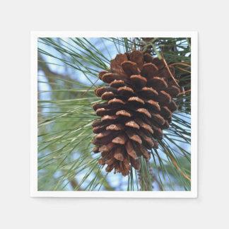 Pine Cone Paper Serviettes