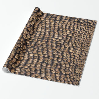 Pine Cone Pattern Wrapping Paper