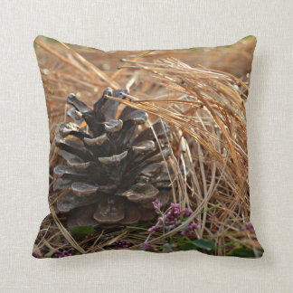 Pine Cone Pine Needles Caress Cushion