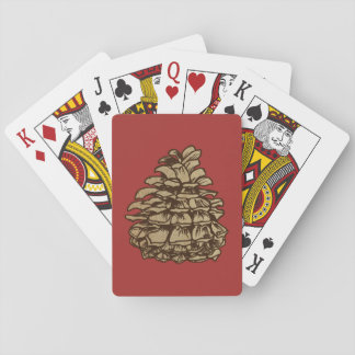 Pine Cone (Ponderosa) Playing Cards