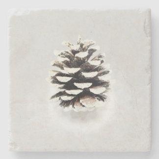 Pine Cone Stone Coaster