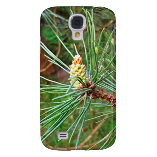Pine cone tree needles photograph galaxy s4 case