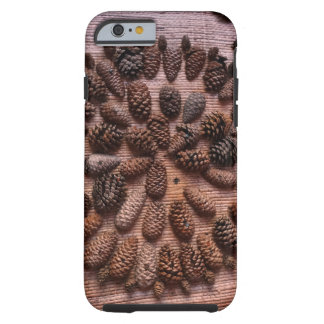 Pine Cones mandala photo  iPhone 6/6s, Tough Tough iPhone 6 Case
