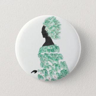 Pine Dryad 6 Cm Round Badge