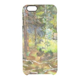 Pine forest clear iPhone 6/6S case