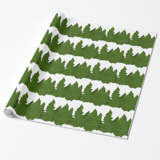 Pine Forest Wrapping Paper