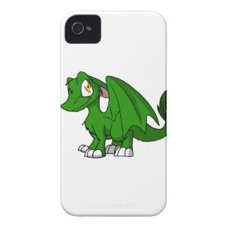 Pine Green SD Furry Dragon iPhone4 Case
