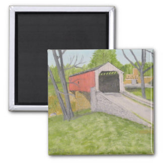 Pine Grove Covered Bridge II - Lancaster Magnet