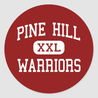 Pine Hill - Warriors - High - Pine Hill New Mexico Sticker