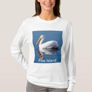 Pine Island Pelican Long Sleeved T-Shirt