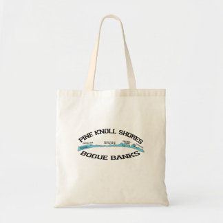 Pine Knoll Shores. Canvas Bags