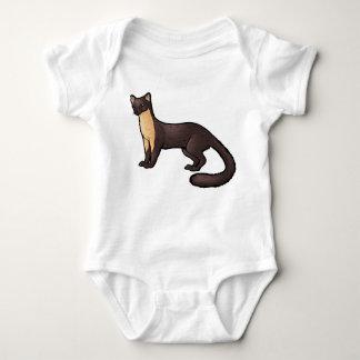 Pine Marten Baby Bodysuit