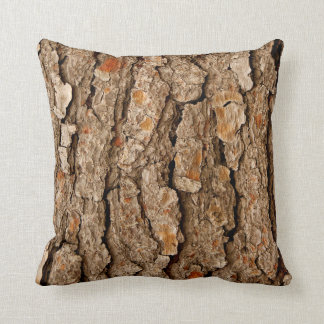 Pine Tree Bark Texture Cushion