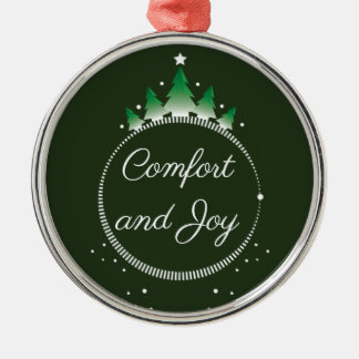 Pine tree Comfort and Joy | Ornament
