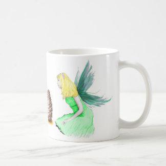 Pine Tree Fairy with pine cone Coffee Mug