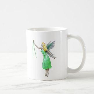 Pine Tree Fairy with pine needles Coffee Mug