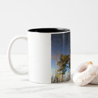 Pine Tree Reflection Mug