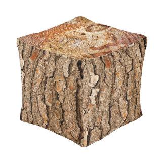 Pine Tree Texture Pouf