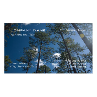 Pine Trees Business Card