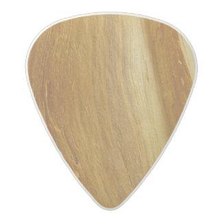 Pine Wood II Faux Wooden Texture Acetal Guitar Pick