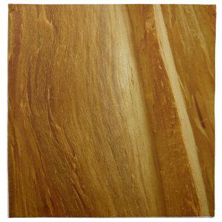 Pine Wood II Faux Wooden Texture Napkin