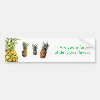 pineapple2, pineapple-01, what-makes-a-good-pin... bumper sticker