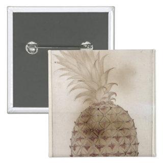 Pineapple, 15 Cm Square Badge