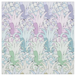 Pineapple Abstract Pastels ID240 Fabric