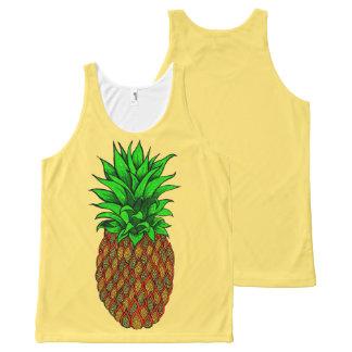 Pineapple All-Over Print Singlet