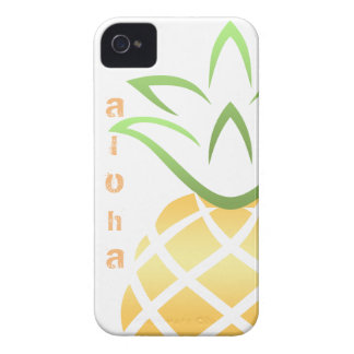Pineapple Aloha Hawaii! Case-Mate iPhone 4 Case