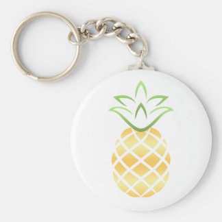 Pineapple Aloha Hawaii! Key Ring
